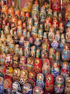 ....Matryoshka dolls....