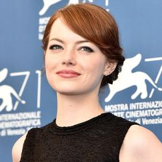 Emma Stone <3 Love her hair