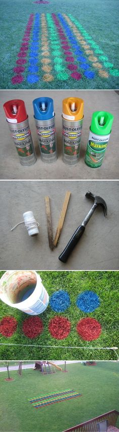 12 Amazing DIY Backyard Games to Build Right Now!