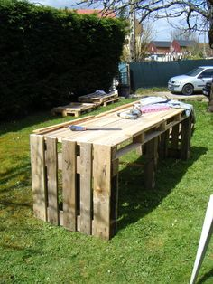 Pallet Garden Table | 99 Pallets