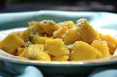 Mango, Banana, Pineapple Kale Salad with Creamy Pineapple Lime Coconut ...