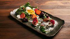 Salade de betteraves et chèvre frais
