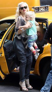 Gwen Stefani Strappy Sandals