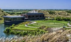 The clubhouse at the Streamsong Resort