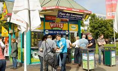 10 Of the Best Budget Eats in Berlin: Witty's - After shopping at west Berlin's massive KaDeWe department store, head to the district's best currywurst kiosk to refuel on its sausages in spicy sauce, before you attempt strolling and shopping your way up the famous Kurfürstendamm (Ku' damm) boulevard. Witty's is the best joint on the square, using only the best local meat and vegetables. Beside the famed sausages (with our without the skin), Witty's has grilled bratwurst, frankfurters and…