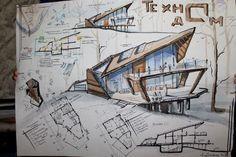 New design portfolio architecture landscapes ideas Sketchbook Architecture, Concept Architecture, School Architecture, Landscape Architecture, Architecture Design, Landscape Design, Urban Landscape, Amazing Architecture, Building Architecture