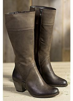 Women's Duval Tall Leather Harness Boots