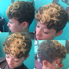 color curl, hairstyl, curl curl, shortcut
