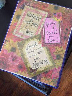 Printable Loose Leaf Paper Prayer Journal Printable Coloring Page Digital Download  Bible .