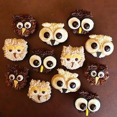 Guardians of Ga'Hoole cupcakes!