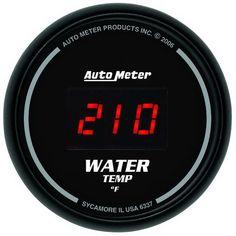 30PSI to 20PSI Triple 3 Gauge Set Turbo Boost Water Temp Oil Pressure Gauge Meter Kit ECCPP Triple Gauge Kit Car Motor Universal 2 inch 52mm Turbo Boost Gauge Meter Digital Style Smoke Tint Lens LED