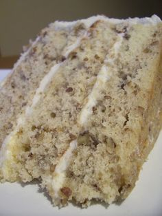 Amber's Delectable Delights: Toasted Butter Pecan Cake