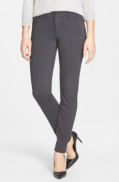 KUT from the Kloth 'Diana' Ponte Knit Five Pocket Skinny Pants (Regular & Petite) (Online Only) | Nordstrom