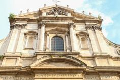 Gorgeous municipal building near the Pantheon in Rome, Italy. www.amorexplore.co.uk.