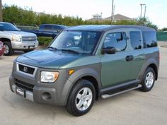 Cars for Sale: Used 2005 Honda Element in EX, Pasadena TX: 77504 Details - Sport Utility - Autotrader