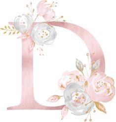 D y alphabet Flower Backgrounds, Flower Wallpaper, Wallpaper Backgrounds, Iphone Wallpaper, Flower Letters, Flower Frame, Lettering Design, Hand Lettering, Monogram Wallpaper