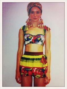 Dolce - Spring '13 Frida Khalo.
