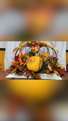 Thanksgiving Wreaths, Autumn Wreaths, Rustic Wreaths, Door Wreaths, Burlap Wreath, Fall Table Centerpieces, Floral Centerpieces, Fall Decorations, Fall Home Decor