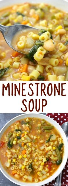 came out perfect! will make again! CLASSIC MINESTRONE SOUP #soup #souprecipe #italian #italianfood #dinner