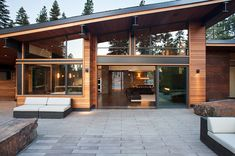 Martis Camp Residence-Ward-Young Architecture-19-1 Kindesign - Blackened Steel Trim