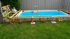 (notitle) – [pin_pinter_full_name] (notitle) Oberirdische Pools, Swimming Pools Backyard, Cool Pools, Piscina Diy, Piscina Intex, Above Ground Pool Decks, In Ground Pools, Backyard Pool Designs, Backyard Projects