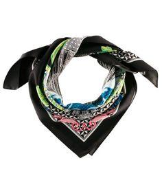 Pretty satin scarf.