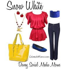 Snow white is all the rage today. Check out this super cute outfit that brings her style into 2012!