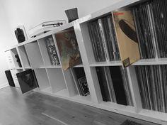 Vinyl Music, Vinyl Records, Audiophile Turntable, Ghost Bc, Vinyl Collectors, Music Rooms, Vinyl Record Storage, Led Zeppelin, New Room