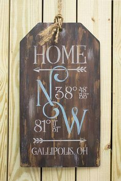 Home Coordinates Pattern Packet Patricia Rawlinson Rustic Wood Signs Coordinates Home Packet Patricia Pattern Rawlinson Diy Home Decor Projects, Diy Projects To Try, Wood Projects, Craft Projects, Decor Ideas, Decor Crafts, Craft Ideas, Diy Wall Shelves, Floating Shelves Diy