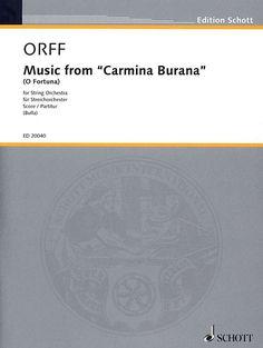 Carl Orff: O Fortuna (aus Carmina Burana) Carl Orff, Chor, Orchestra, Musica, Band