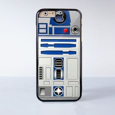 R2D2 Robot Plastic Phone Case For iPhone 6 More Style For iPhone 6/5/5s/5c/4/4s