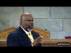 Bishop TD Jakes - Growing Up Into God's Favor (Part 1)
