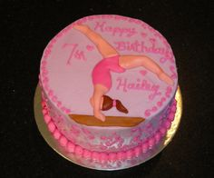 36 Awesome Gymnastics Birthday Cakes Images