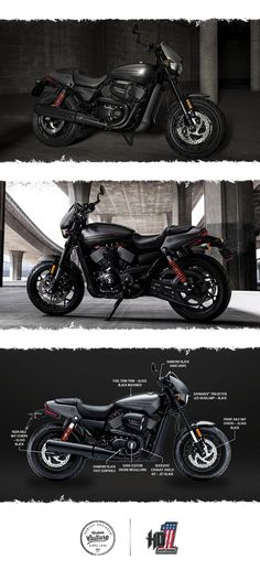 Give your soul a jolt with 750cc of adrenaline from the new High Output Revolution X engine.   2017 Harley-Davidson Street Rod