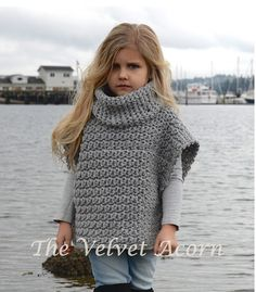 CROCHET Pattern Aura Pullover 2 3/4 5/7 8/10 von Thevelvetacorn