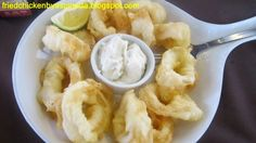 Fried Chicken for the Soul.: Alex III: Calamares Fritos!