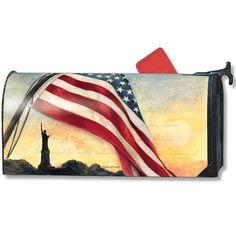 Liberty at Sunset Mailwrap