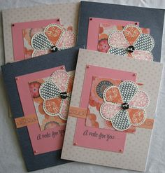 Close To My Heart Claire Paper Packet and Just For You Stamp Set
