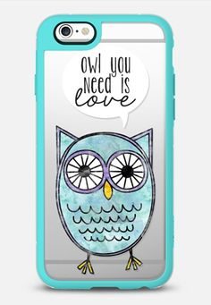 Owl You Need is Love iPhone 6s Case by The Olive Tree   Casetify