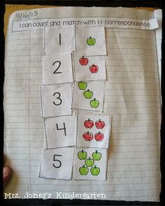 My First Interactive MATH Notebook! Just for Kindergarten! This notebook has been a simple, easy addition to my daily math routine this year and provided a great portfolio of student work throughout the year. $
