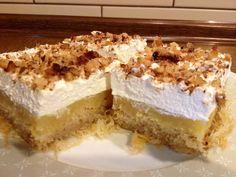 Krispie Treats, Rice Krispies, Vanilla Cake, Tiramisu, Cheesecake, Ethnic Recipes, Desserts, Food, Tailgate Desserts