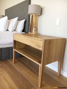 Bedroom side pedestals from Solid French Oak and rough solid French oak lamp base. French Oak, St Francis, Lamp Bases, Cape, Bench, Bedroom, Storage, Interior, House