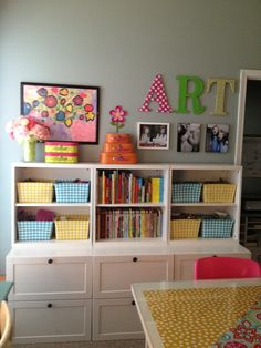 These pins are my Wish List ideas for the Perfect Craft Room