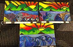 Calendar Pastel and Dye sunset Koru art Art For Kids, Art Projects, Calendar, Pastel, Sunset, Artwork, Art For Toddlers, Art Kids, Cake