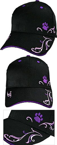 Purple Paw Filigree Baseball Hat at The Animal Rescue Site....ONLY $5.00...  CHECK OUT ANIMAL RESCUE SITE...FACEBOOK.  DON'T FORGET TO CLICK TO PROVIDE FOOD FOR ANIMALS....ONLY TAKES SECONDS TO DO...DANA