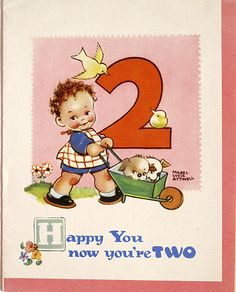 March House Books Blog: Mabel Lucie Attwell and the Boo-Boos original birthday cards