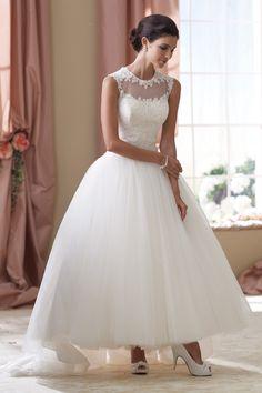 Wedding Dress ~ Photo by David Tutera for Mon Cheri