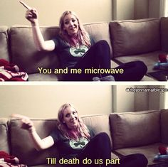 Jenna Marbles understands me. @Elizabeth Knotts this is my life 24/7.