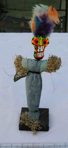 Authentic New Orleans Voodoo Doll Gotta have this one Voodoo Priestess, Voodoo Hoodoo, Damnit Doll, Witch Doctor Costume, New Orleans Voodoo, Voodoo Dolls, Doll Parts, Assemblage Art, Psychobilly
