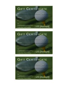 Free printable gift certificate forms free certificates birthday golf gift certificate download this free printable golf gift certificate if you often rush around yadclub Image collections